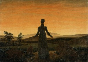 Caspar_David_Friedrich_-_Woman_before_the_Rising_Sun_(Woman_before_the_Setting_Sun)_-_WGA08253