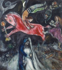 Marc-CHAGALL-Cheval-Rouge